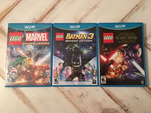 3 Nintendo Wii U LEGO Games for Sale in Brentwood, CA