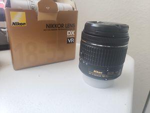 Nikon Af-P 18-55mm lens for Sale in Kalamazoo, MI