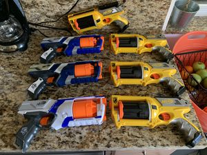 Nerf Guns - Lot of 7 - Nerf War Party! for Sale in Pembroke Pines, FL