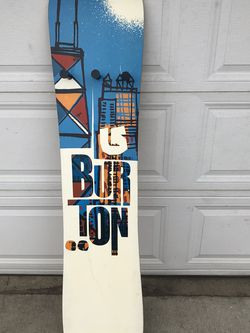 "Burton Snowboard Wooden Decor (60"" x 12"") - $35 for Sale in Upland,  CA"