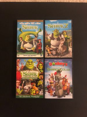 SHREK MOVIES for Sale in Howell, NJ