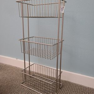 The container store wire basket organizer with tag **brand new** for Sale in Seattle, WA