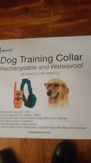 Dog training collar for Sale in Kansas City, MO