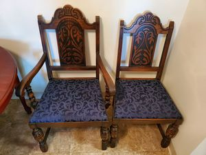 4 Dining Room Chairs - 3 Regular and 1 with Arms for Sale in Taycheedah, WI