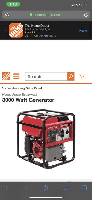 Generator for Sale in Whitehall, OH