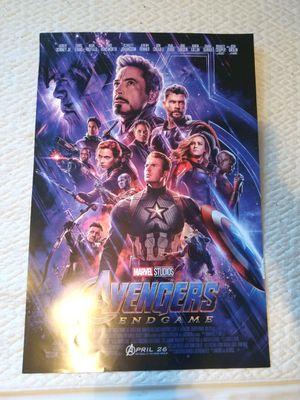 Avengers Endgame Poster for Sale in Grand Prairie, TX