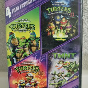 Teenage Mutant Ninja Turtles Part 1 Through 4 (TMNT) DVD for Sale in Sarasota, FL