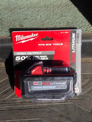 Milwaukee High Output M18 8.0 for Sale in Oceanside, CA