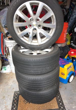 4 tires with rims - Chevy for Sale in Miramar, FL