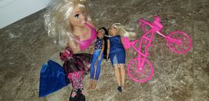 Barbie stylling head and more for Sale in Winter Haven, FL