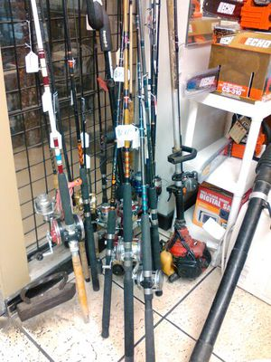 Fishing rods sold separate for Sale in Miami, FL
