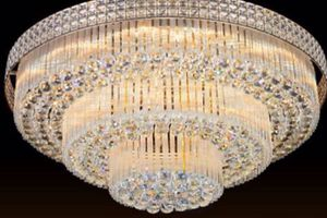 Modern Crystal Chandelier Light Ceiling Lamp Lighting Home Room Decor K9 Clear for Sale in Henderson, NV