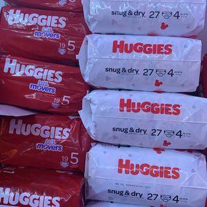Huggies Diapers for Sale in Lynwood, CA