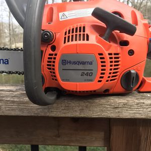 Husquvarna chainsaw for Sale in Roswell, GA