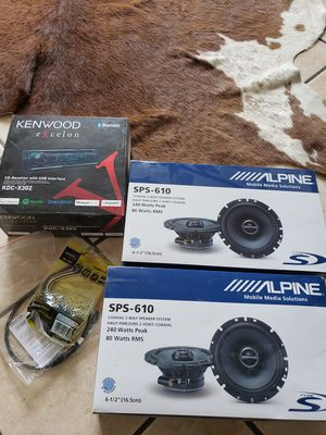 Alpine Stereo system brand new for Sale in Littleton, CO