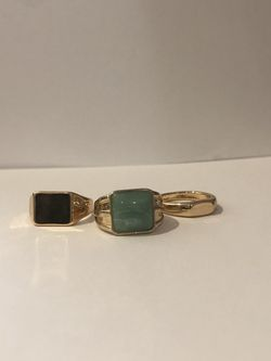 Pack of 3 Gold Rings for Sale in Los Angeles,  CA