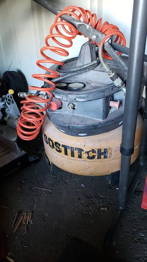 Bostitch 6 gallon pancake air compressor for Sale in Henderson, NV