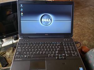 Dell laptop notebook computer I7 CPU for Sale in Stockton, CA