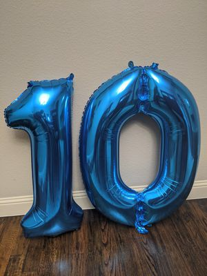 """Number shaped balloon 34"""" for Sale in Grand Prairie, TX"""