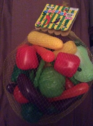 New bag of plastic play vegetables for Sale in Portsmouth, VA