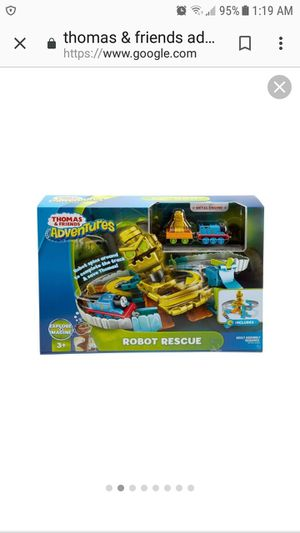 Thomas The Train Robot Rescue Playset Brand New in Box for Sale in Martinsburg, WV
