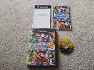 Mario Party 4 (Nintendo GameCube, 2002) for Sale in Palmdale, CA