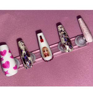 Barbie Press On Nails for Sale in Orange, CA