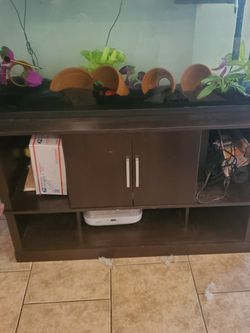 55 Gallon Tank With Stand And Accessories for Sale in Phoenix,  AZ