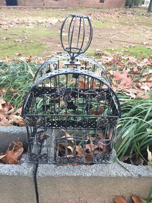 Small Metal Bird Cage for Sale in Monroe, NC