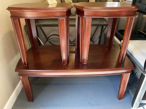 New 3pc Cocktail Table Set for Sale in Winston-Salem, NC