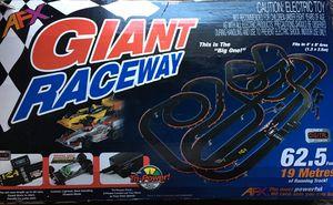 AFX HO scale Mega Giant Raceway Electric Slot Car Race Set w/Tri Power for Sale in El Monte, CA