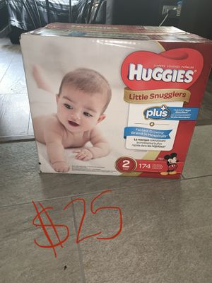 Huggies size 2 for Sale in Streetsboro, OH