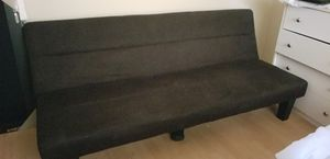 Convertible sofa (twin side) black for Sale in Tampa, FL
