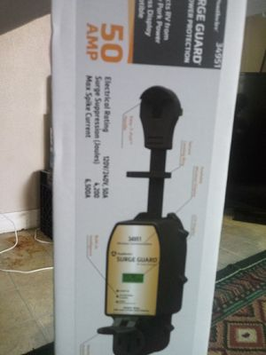 Surge Guard RV Power Protection 50 AMP and a DMX USB PRO MK2 Adapter for Sale in Jacksonville, FL