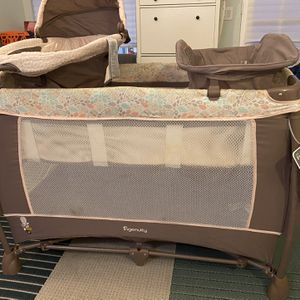 Ingenuity Smart and Simple Portable Playard/Crib, Changing Table (Pack and Play) for Sale in Huntington Beach, CA