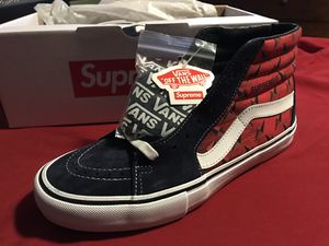 Supreme Vans Diamond Plate Sk8-Hi Pro (Size 9.5) for Sale in Miami, FL