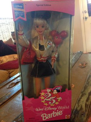 Barbie Disney world 25th special edition for Sale in Richmond, TX