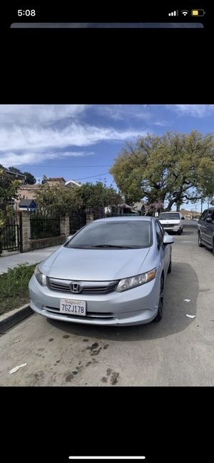 2012 Honda Civic (SALVAGED) for Sale in View Park-Windsor Hills, CA