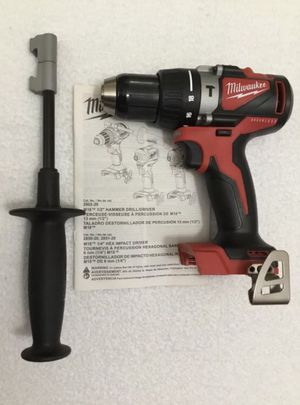 Milwaukee M18 18-Volt Lithium-Ion Brushless Cordless 1/2 in. Compact Hammer Drill.Tool Only for Sale in Chicago, IL