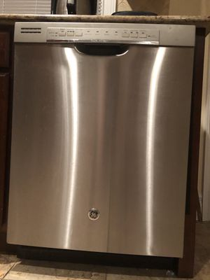 GE Front Control Tall Tub Dishwasher in stainless steal for Sale in Staten Island, NY