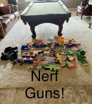 NERF GUNS, DARTS AND VEST! Great condition! for Sale in Chandler, AZ
