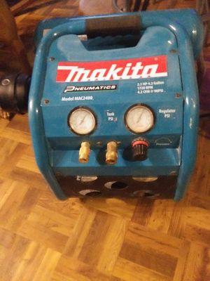 Makita double chamber air compressor for Sale in Everett, WA