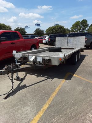 2010 car hauler it is all aluminum title and paperwork in hand ready to go for Sale in Spring, TX