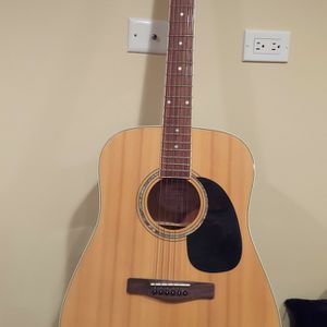 Mitchell Acoustic Guitar With Stand for Sale in Niles, IL