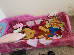 Trolls toddler bed and mattress for Sale in District Heights, MD
