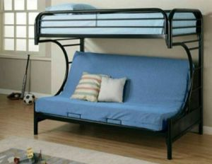 Twin/Full Bunk Futon with Mattress New for Sale in Margate, FL