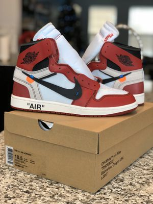Jordan 1 Retro High Off-White Chicago - Size 10.5 for Sale in Severn, MD