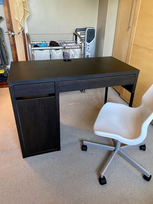 NEW IKEA MICKE DESK AND OFFICE CHAIR for Sale in Clifton, NJ