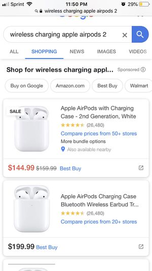 Brand new AirPods GEN 2 wireless charging ! Best deal around price check it ! for Sale in Las Vegas, NV