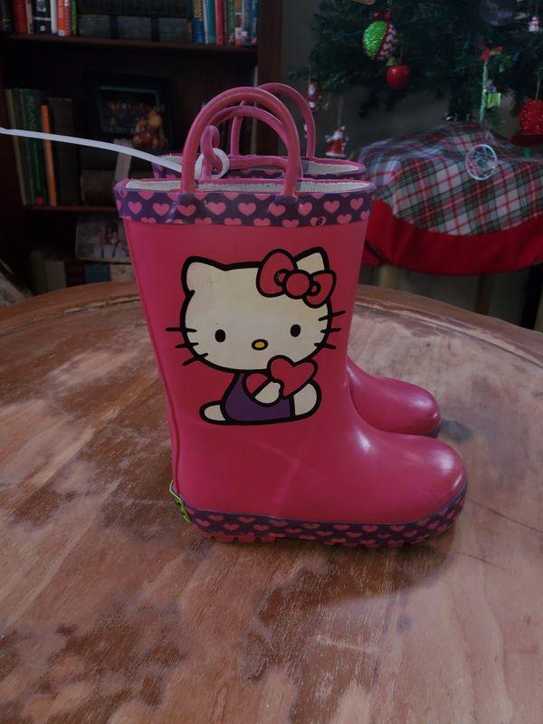 Toddler girl rain boots size 7/8